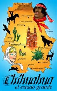 Mapa De Chihuahua - Bing images