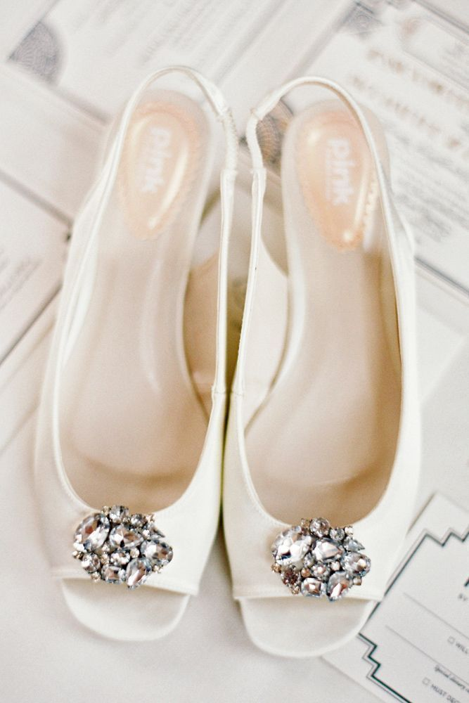 Wedding shoes: from classic to trendy