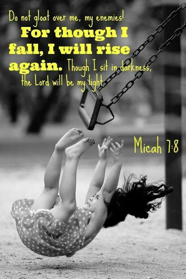 I will rise again