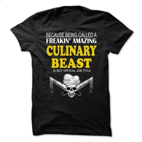 CHEF CULINARY BEAST - #design shirts #mens zip up hoodies. ORDER HERE =>…