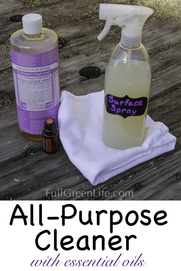 Or simply want a cheaper, more eco-friendly cleaner? This DIY recipe for an all-purpose cleaning spray is the answer.