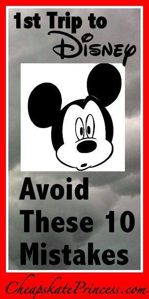 Disney Worlld Tips | 1st Trip to Disney? Avoid These 10 Mistakes! | Disney Cheapskate Princess #disney #disneyworld #disneyvacation