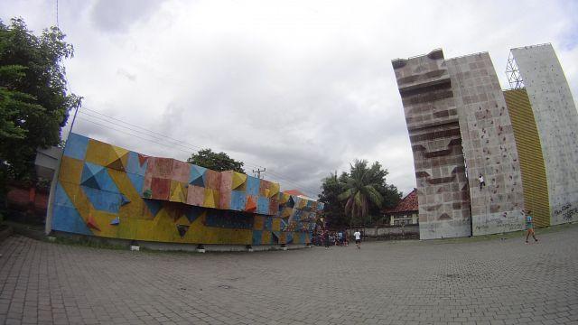 Скалодромы и скалолазание на Бали