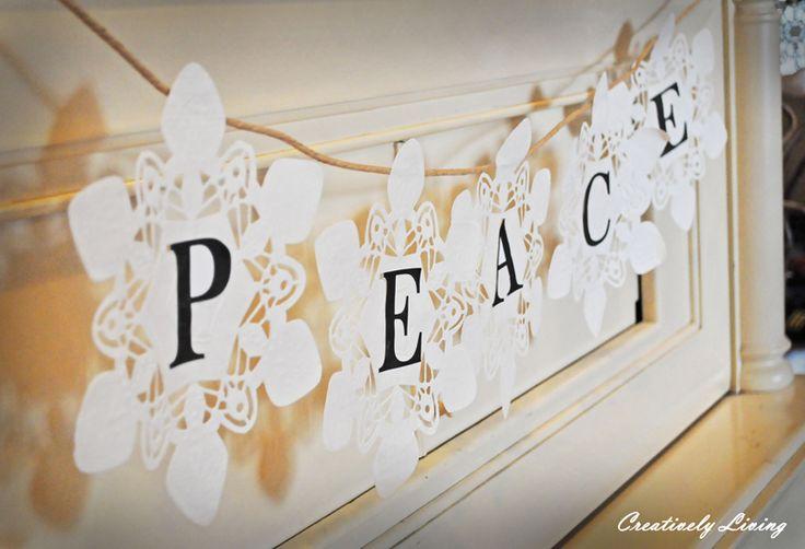 Christmas Snowflake Banner