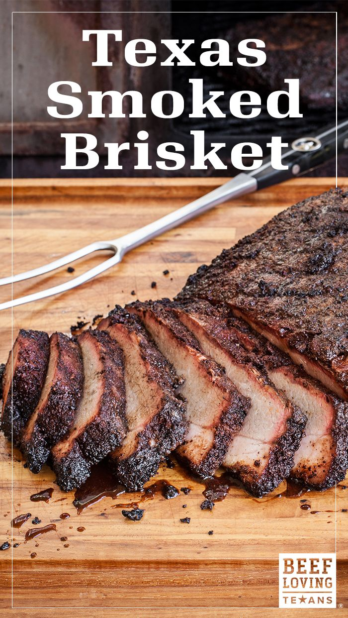 Low & slow is key to the perfect smoked Texas brisket. All it takes is the beef, some seasoning & time on the clock. Get the recipe to unlock the secrets of Texas barbecue in your own backyard!
