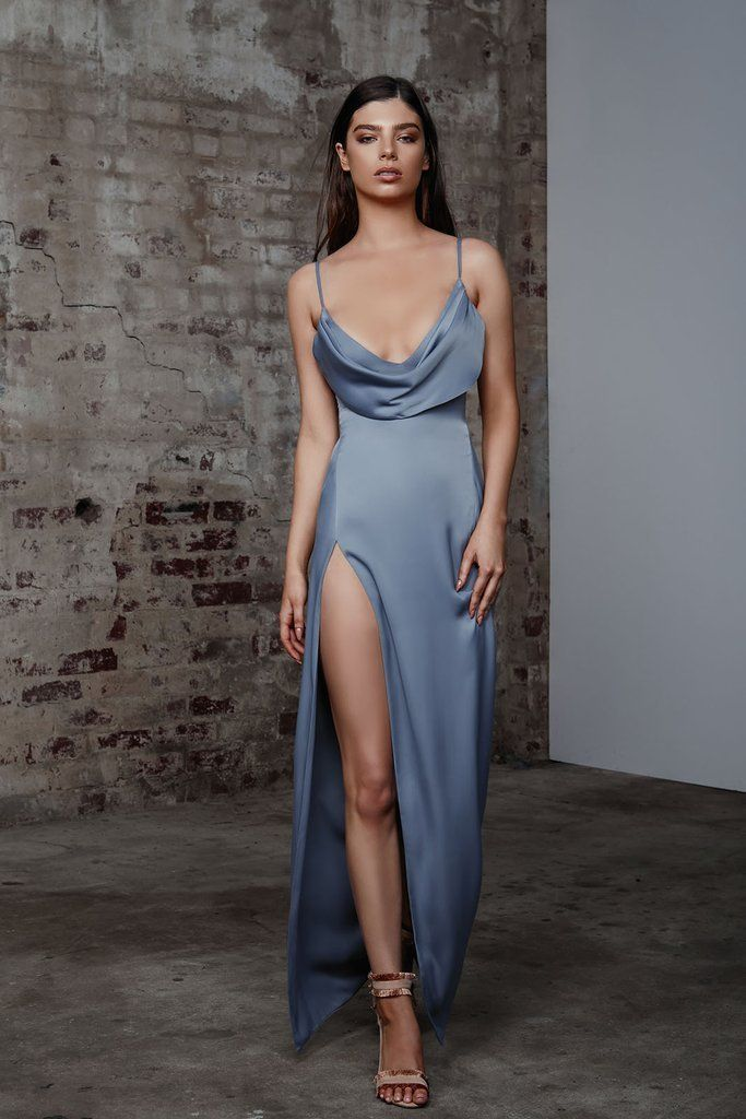 Lexi Mila Dress - Slate Blue in 2020 | Elegant dresses, Dresses, Fashion dresses