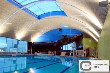Thermen & Badewelt Spa-Indoor Pool. Sinsheim, Germany.