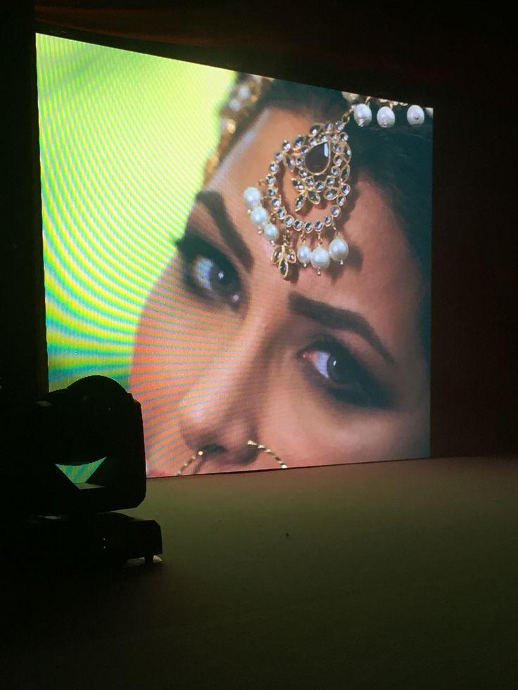 Gorgeous Asian fashion at Asian Bride Live catwalk show.