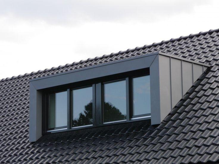 Dakkapel in zink bouwbedrijf constructabouw dakkapel for Prefab eyebrow dormer
