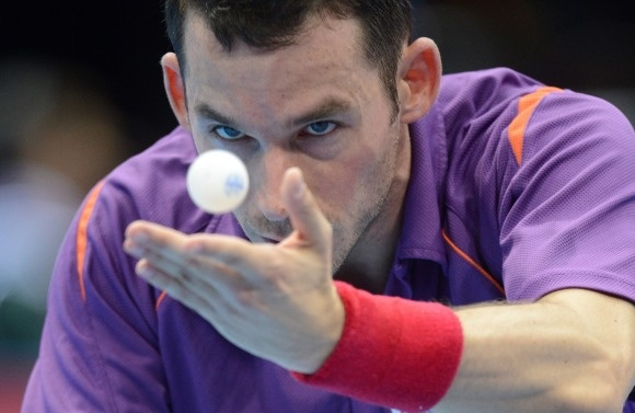 Daniel Zwickl | Are These Photos of Olympics Table Tennis or Telekinesis? You Decide. | Olympics | TIME.com