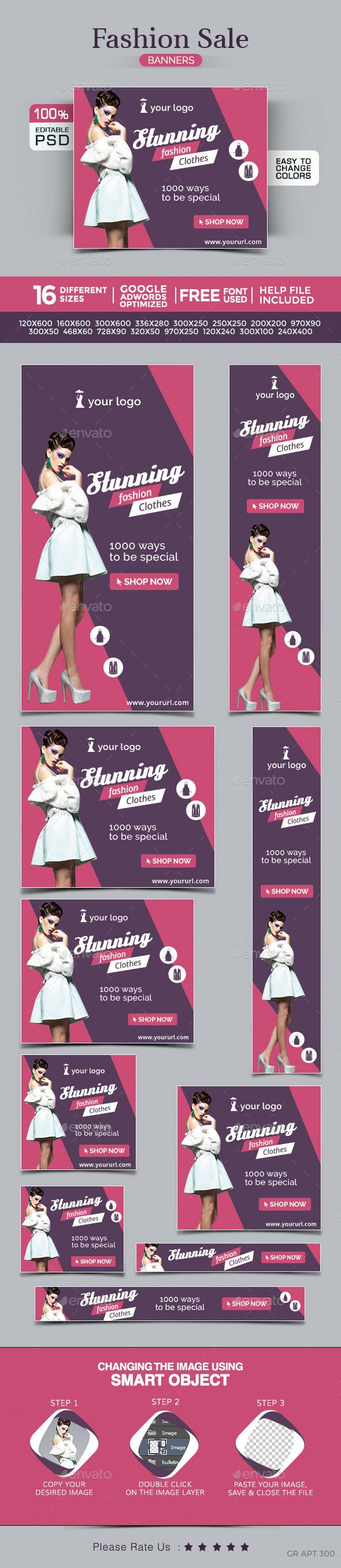 Fashion Banners | Download: http://graphicriver.net/item/fashion-banners/10320617?ref=ksioks