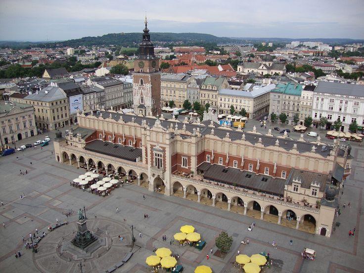 Kraków, Polska, Sukiennice, Rynek