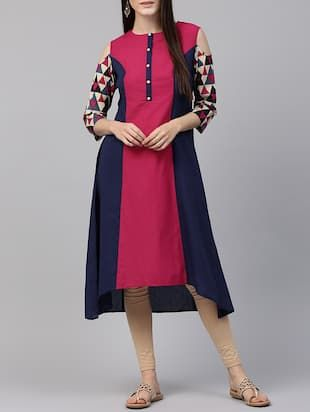 Check out what I found on the LimeRoad Shopping App! You'll love the magenta cotton high-low kurta. See it here http://www.limeroad.com/products/14597095?utm_source=6c79537446&utm_medium=android