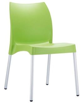 Restaurant Chairs - Green Vita Chair - #Restaurant #Chairs #OutdoorChairs #Indoor Chairs http://www.hoskit.com.au/Furniture/Restaurant-Chair/Vita-Chair/