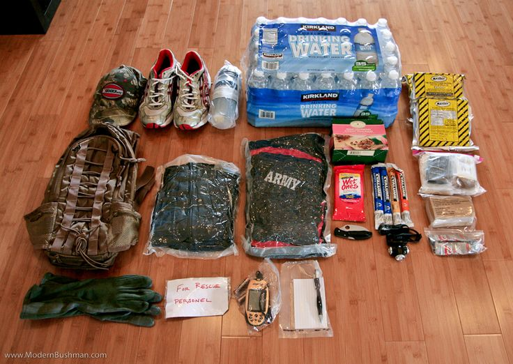 Vehicle Bug Out Bag Packing List Inventory Travel