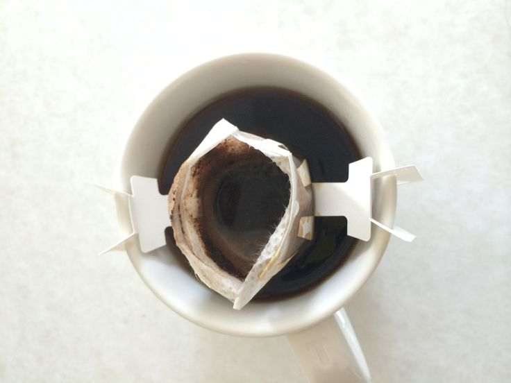 Drinking coffee.. Japanese style