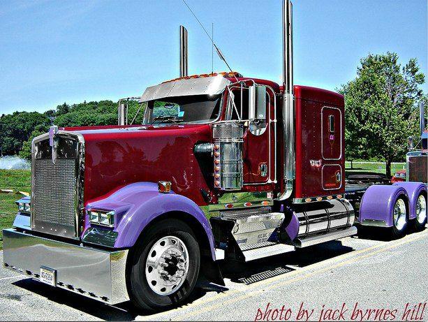 Cool Semi-Trucks | Custom Semi Trucks: Photo Gallery of Cool Big Rig Iron