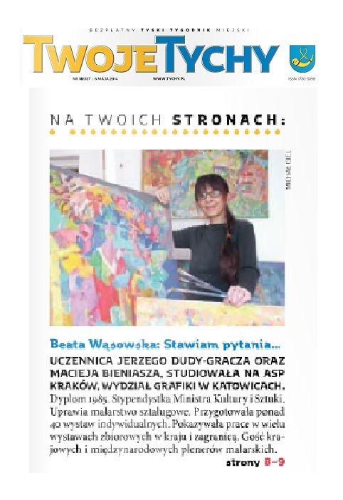 W pracowniach tyskich artystów, Beata Wąsowska: Stawiam pytania. Rozmawia Marek Ciszak