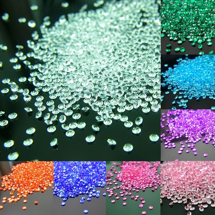 500Pcs/lot 4.5mm Wedding 【ᗑ】 Party  Crafts Diamond  【ᗑ】 Decoration Acrylic Crystals Bling Confetti  Event & Party Supplies Festive Decor500Pcs/lot 4.5mm Wedding Party  Crafts Diamond  Decoration Acrylic Crystals Bling Confetti  Event & Party Supplies Festive Decor
