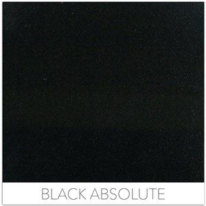 Black Granites - Black Absolute. Now in stock at Dwyer Marble and Stone!