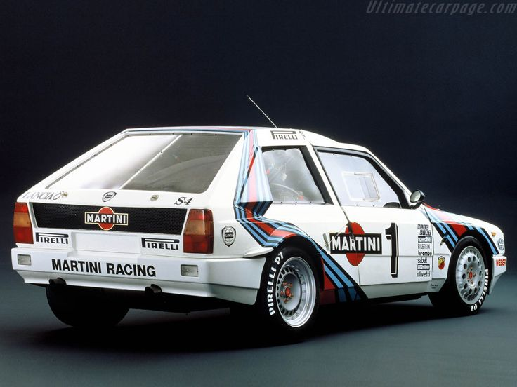 Lancia Delta S4 Group B Rally Car.