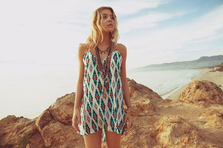 : Summer Collection, Prints Dresses, Looks Books, Planets Blue, Exil Dresses, Blue Moon, The Dresses, Tribal Prints, Blu Moon