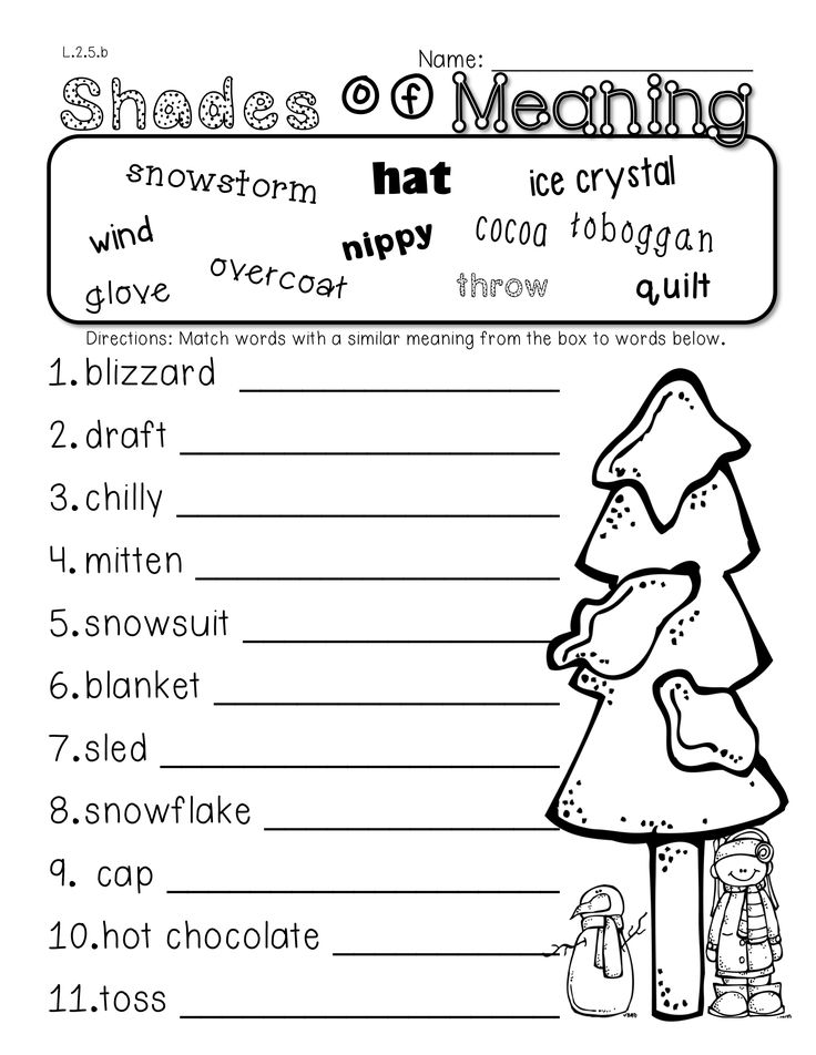 2nd Grade Winter Math and Literacy Packet! Addresses