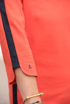 Collection capsule Isabelle Thomas X Balsamik Automne/Hiver 2015 - Robe housse. Existe en 2 statures (petite et moyenne). Coloris : orange. #Balsamik