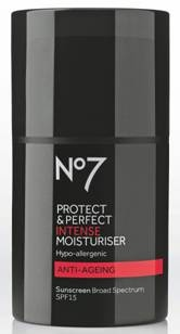 Looking for a last minute gift for Dad?  Give the gift of grooming and stop by your local Walgreens to shop @Boots Beauty USA No7 Men – all under $25!  With six skin care products available he'll be able to pamper himself from head to toe. http://www.walgreens.com/store/c/boots-no7-men-protect-%26-perfect-intense-moisturiser%2c-spf-15/ID=prod6197705-product