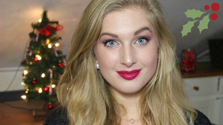 Budget Kerst Make-up Look
