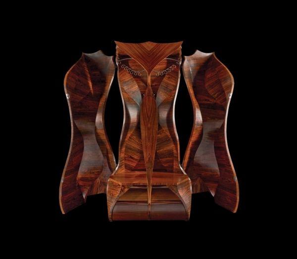 Popular L uArmoire ist ein Massivholz Kleiderschrank und sehr funktionelles M belst ck das durch seine klassische sthetik beeindruckt Studio Tord Boontje