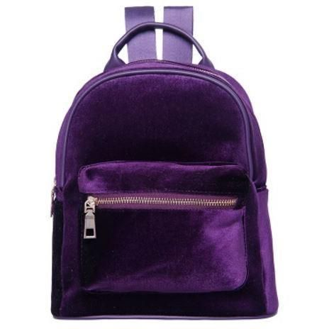 "VELVET ZIPPER BACKPACK Use coupon ""ITPIN"" to get 10% OFF entire order -  itgirlclothing.com   itGirl Shop  kfashion  korean  fashion  tumblr   southkorean ... faab314a17"