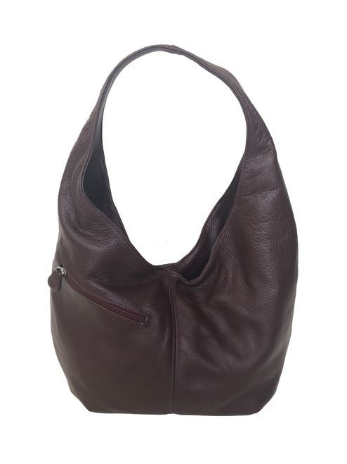 ac4038d0d83068 Red Wine Leather Hobo Bag w/ Pockets, Women Fashion Purses, Alicia ...
