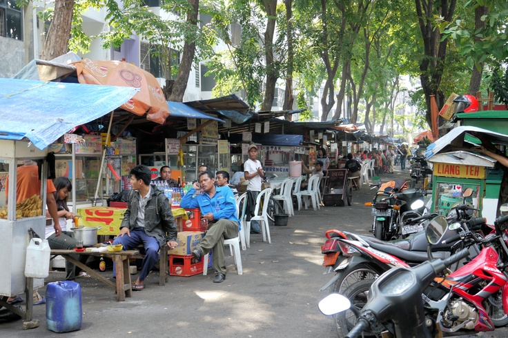 Jakarta Food Stalls