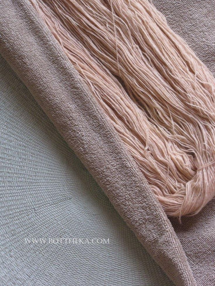 vegetable dyeing, dyers' bugloss root, merino, wool, yarn http://bottheka.com/en/alkanna-tinctoria