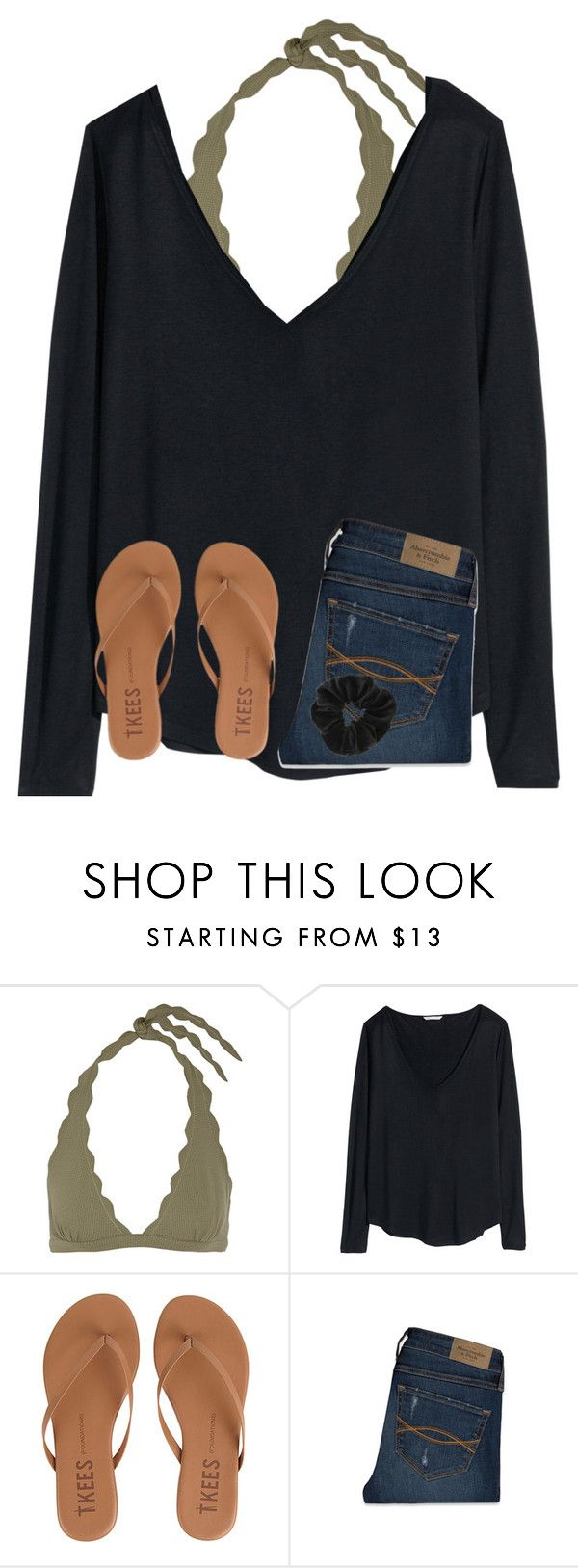 """3 more hours till D.C"" by ponyboysgirlfriend ❤ liked on Polyvore featuring Marysia Swim, H&M, Tkees, Abercrombie & Fitch and Miss Selfridge"