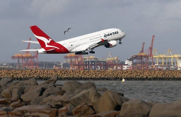 Qantas Is Now Serving Alaskan Halibut And Caviar From Abu Dhabi | Flight Status