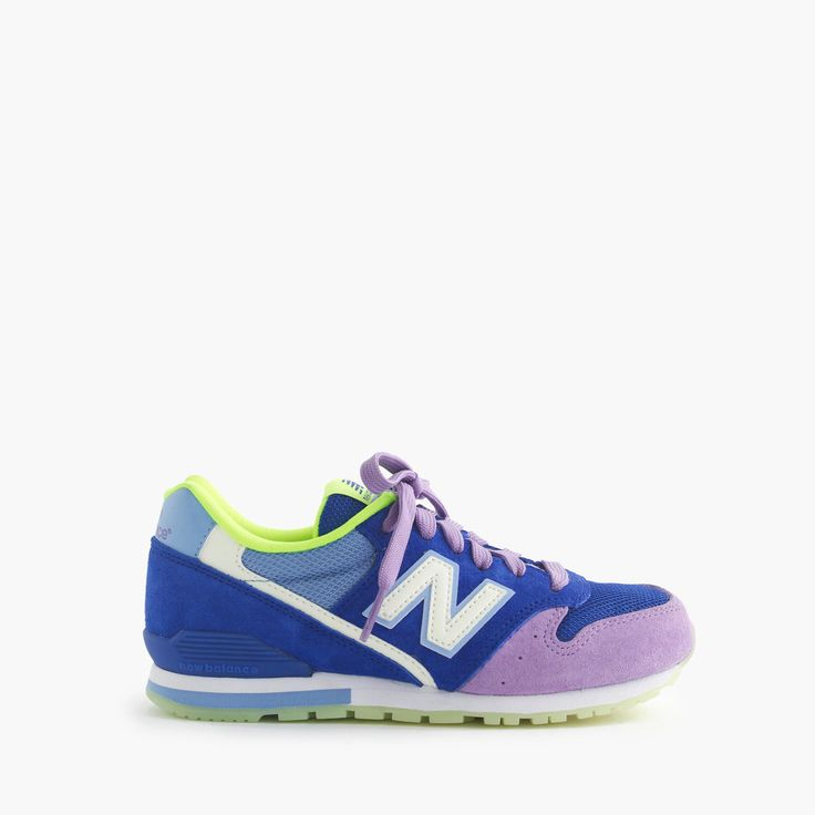 Kids' New Balance® for crewcuts 1300 lace-up sneakers with glow-in-the-dark soles : new balance   J.Crew