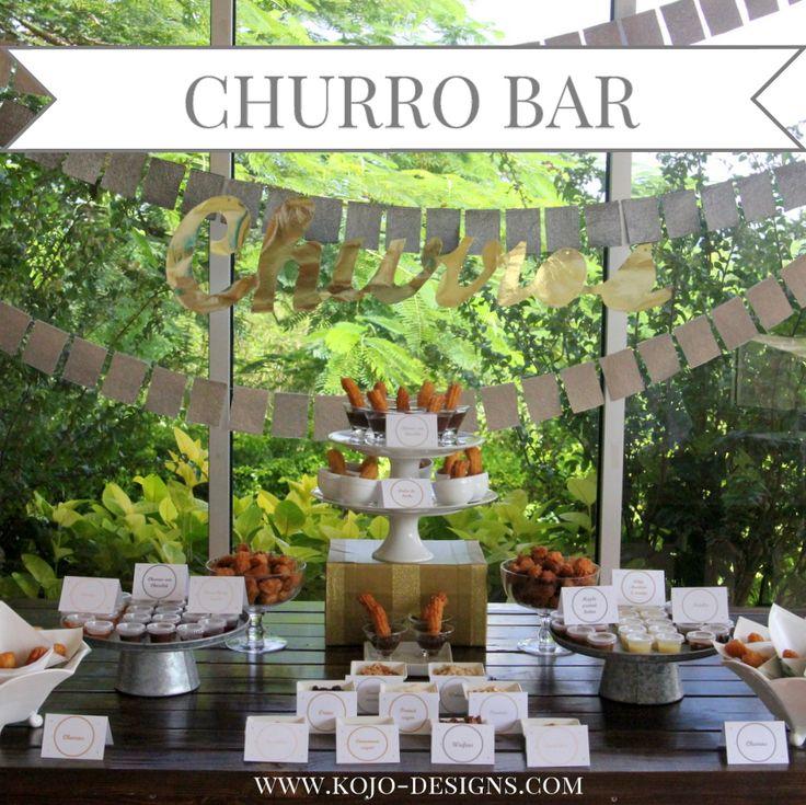 the yummiest churro bar