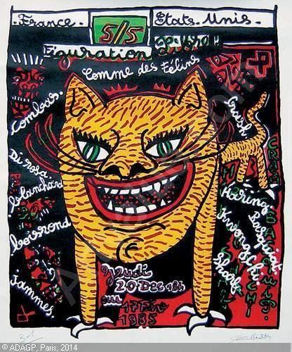 Figuration libre sold by Me Charbonneaux, Paris, on Friday, June 22, 2007