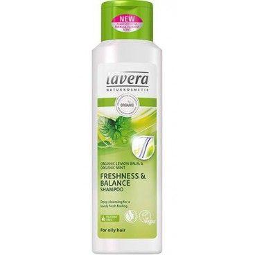 Lavera - Szampon do włosów przetłuszczających się - mięta i cytryna