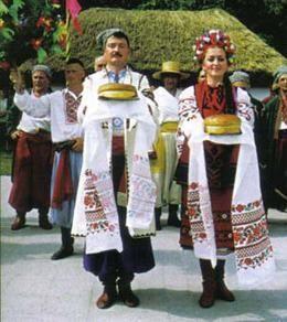 Украинский национальный костюм на слобожанщине