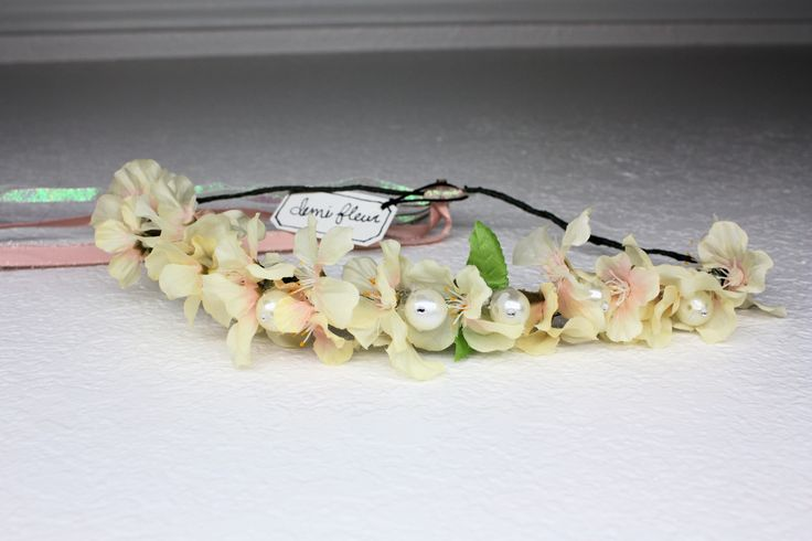 Flower Crown on etsy.com/shop/demifleur