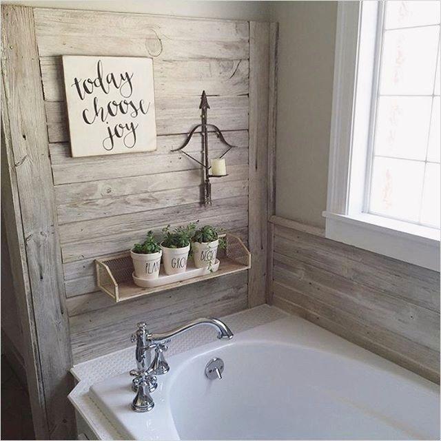 45 Amazing Ideas Farmhouse Bathroom Wall Art That Will Amaze You Farmhouse Bathroom Decor Rustic Master Bathroom Bathroom Farmhouse Style