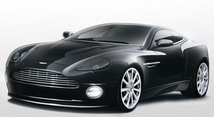 Aston Martin DB9, also kinda awesome. I like English cars.