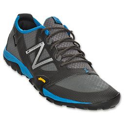 The New Balance Minimus 20  Just bought these and LOVE them! Super comfy barefoot technology, minus the weird individual-toe-slot-look. ( ugh! I can't help it, those things just creep me out!) Really great for someone like me, who tends to roll their ankles often :(