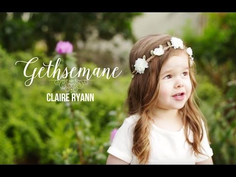 "Video: 3-Year-Old Performs Powerfully Moving Song About the Savior, ""Gethsemane"" 
