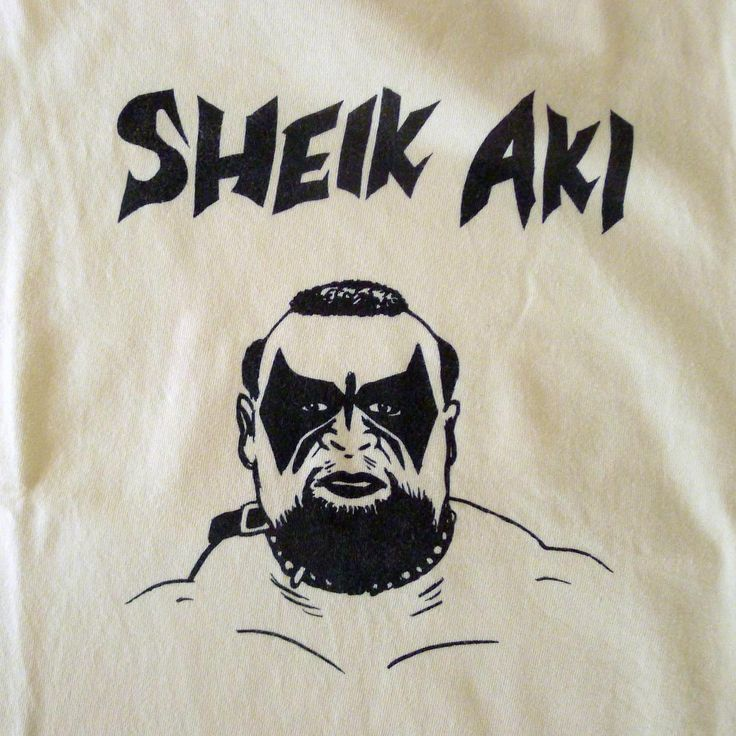 SHEIK AKI designed by Tomoo Gokita