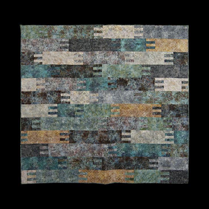 (2016) Bora-Bora 250 x 240 cm, Batik Quilt