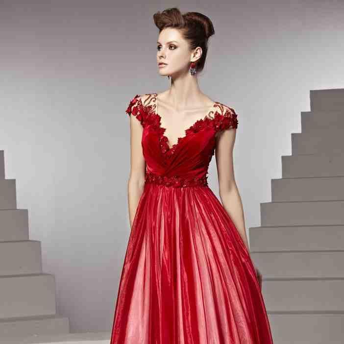 38 best red wedding dresses images on pinterest short for Red dresses for a wedding